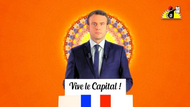 Remix de Macron: «Vive le Capital!»