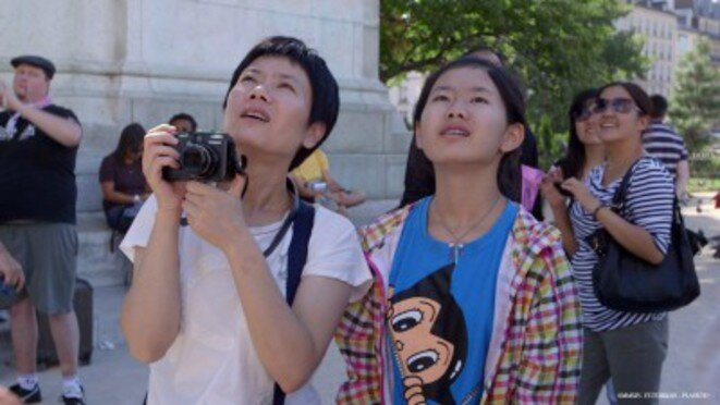 «Voyage en Occident», avec des Chinois en vacances