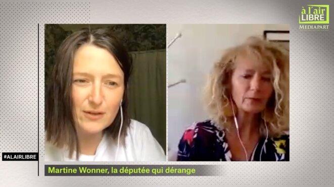 «A l'air libre»: l'euro, les enfants dans la crise, une députée LREM exclue