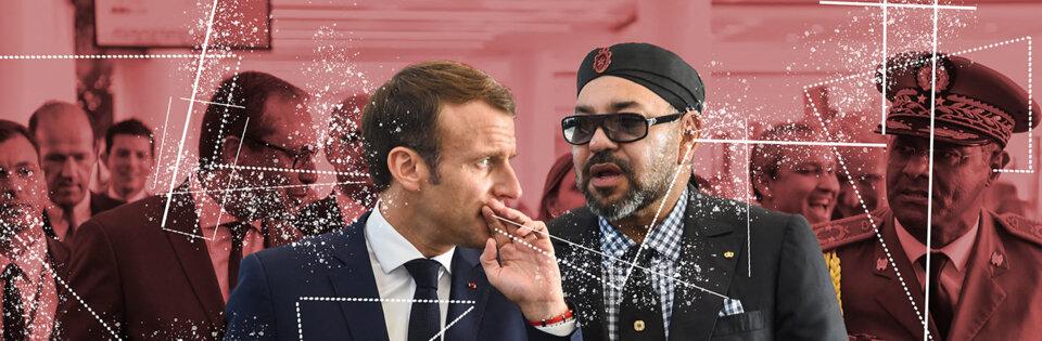 Espionnage: Macron ciblé par le Maroc