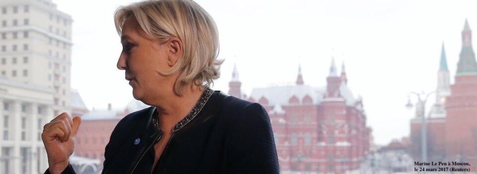 Le Pen signe à nouveau pour de l'argent russe