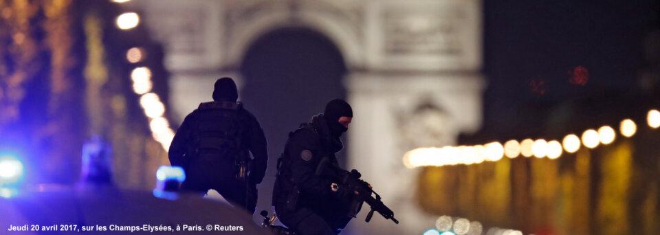 Attentat sur les Champs-Elysées