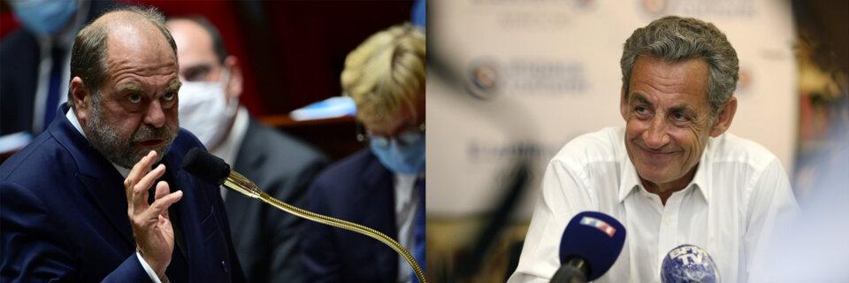 Désaveu pour Dupond-Moretti et Sarkozy