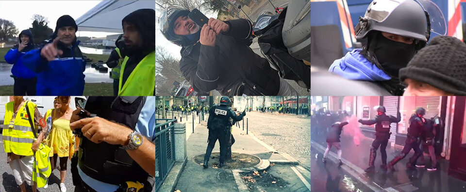 Filmer les violences policières: «Eteignez cela!»