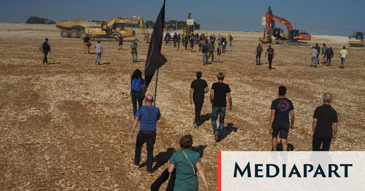Dans les Deux-Sèvres, militants et monde paysan rassemblés contre les méga-bassines agricoles – Page 1
