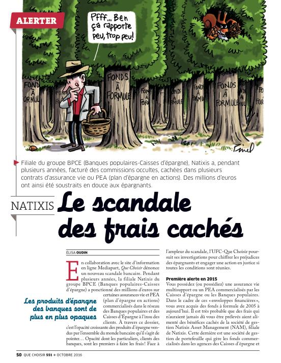Natixis Mediapart Et Que Choisir S Associent Pour Valuer