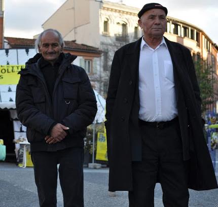 Lors d'une manifestation à Toulouse en novembre 2010.