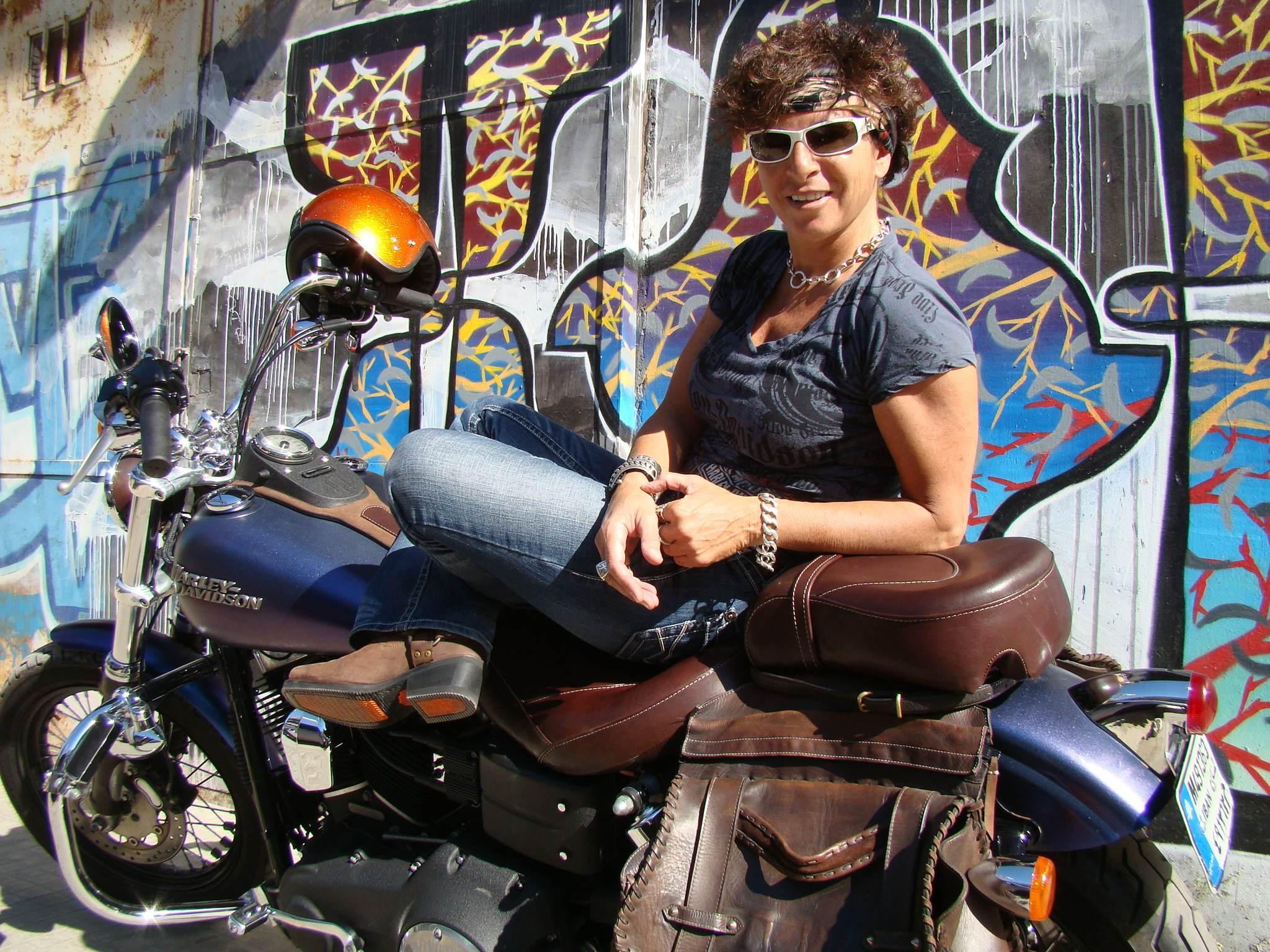Jamais sans ma moto article publi dans le num ro de for Deplacer sa moto dans un garage