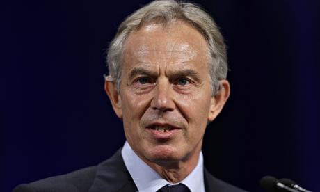 Tony Blair à la soirée de gala de Save The Children à New York