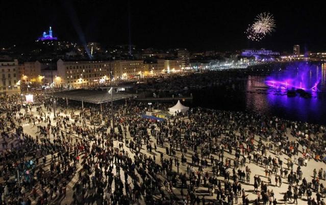 Lancement de la capitale européenne, le 12 janvier 2013