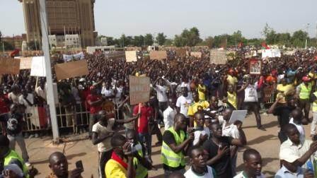La foule le 28 juillet 2013 à Ouagadougou  ©Amidou Kabré