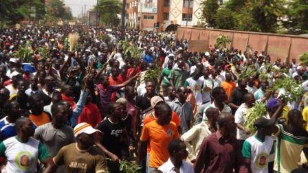 La foule le 28 juillet 2013 à Ouagadougou (2) ©Amidou Kabré