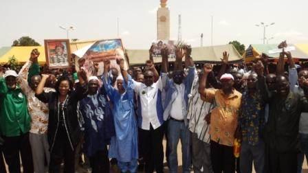 Les dirigeants de l'opposition le 28 juillet 2013 à Ouagadougou ©Amidou Kabré
