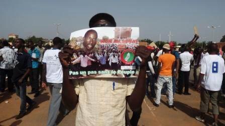 Militans de l'UNIR/PS le 28 juillet 2013 à Ouagadougou © Amidou Kabré