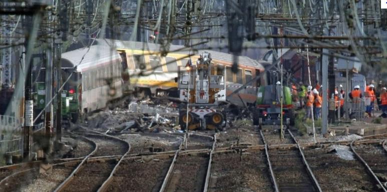 Accident de Brétigny-sur-Orge en juillet 2013