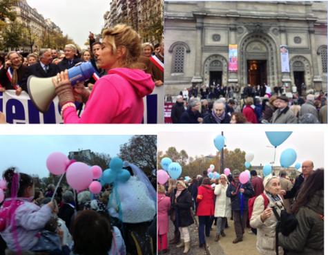 17 novembre 2012. 100.000 manifestants contre le mariage pour tous.
