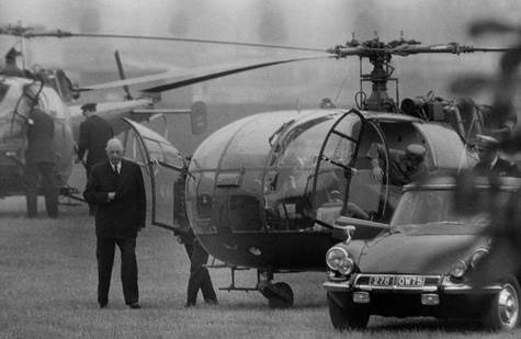 La photographie d'Henri Bureau que de Gaulle détestait (mai 1968)