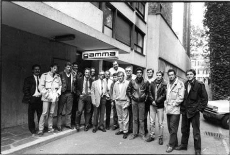 Gamma, l'équipe de 1988