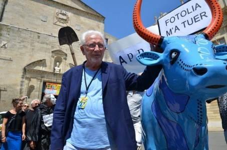 Arles 2011, Lucien Clergue à une manifestation de photographes