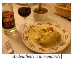 andouillettes à la moutarde