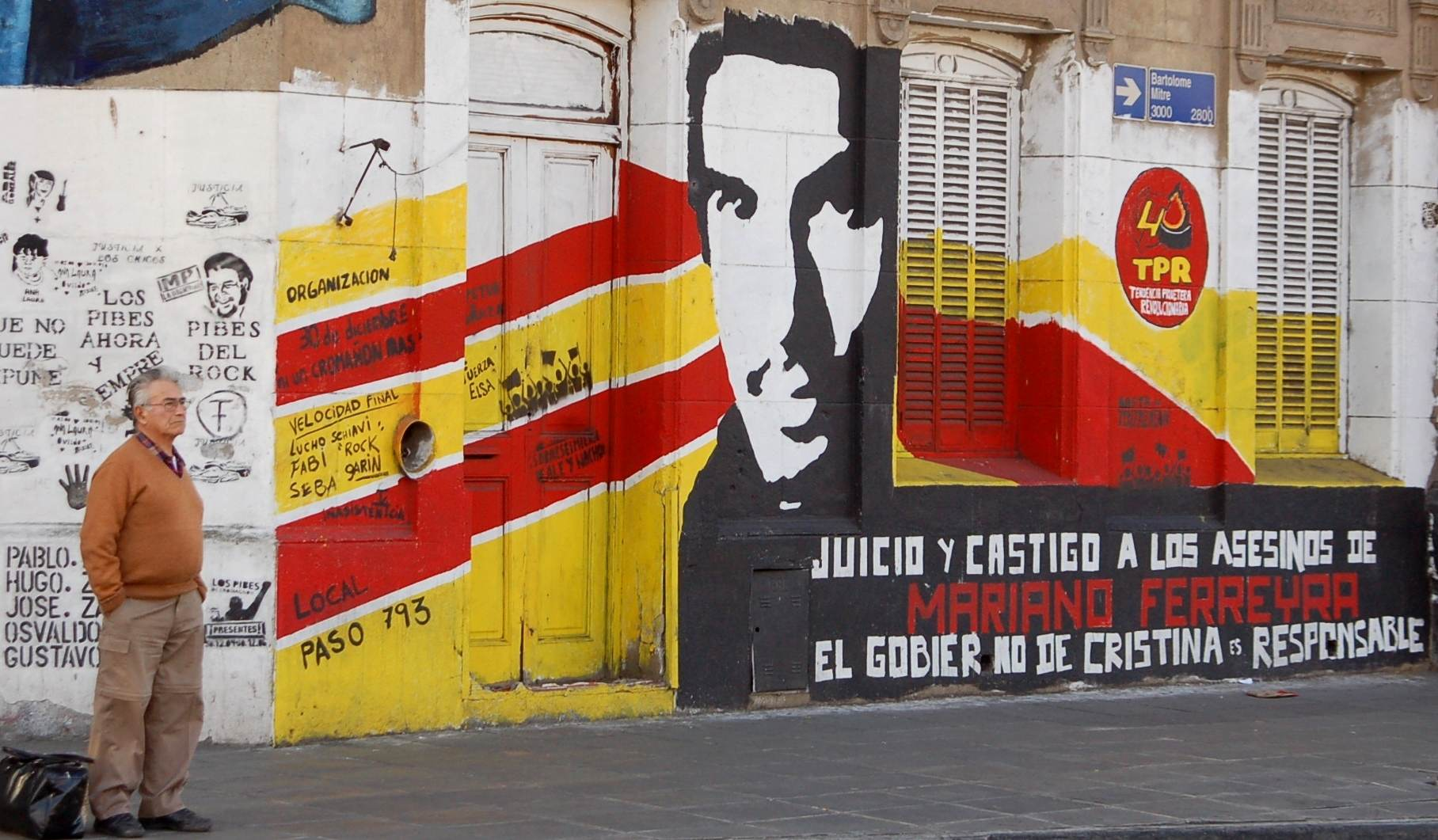 Mural Mariano Ferreyra