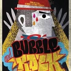 affiche du bubble and rock à Brest