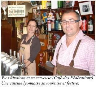 Café des Fédérations. Lyon
