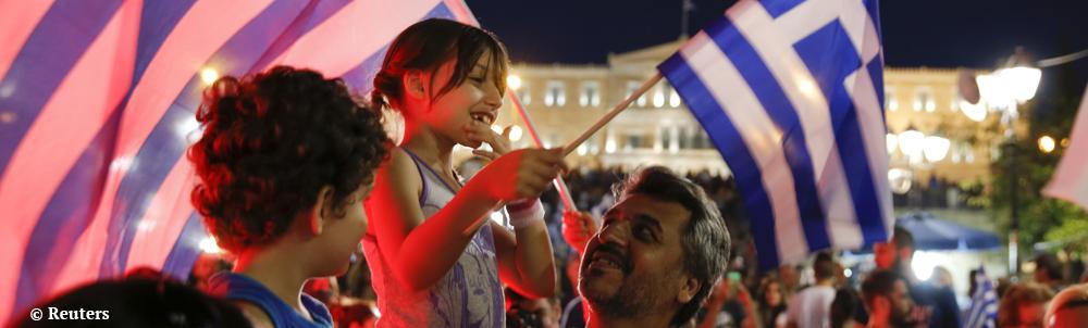 """Les Grecs ont dit """"non"""" à l'austérité"""