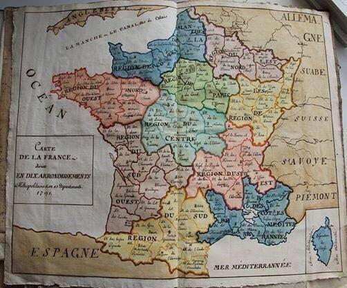 La France sans la Savoie.