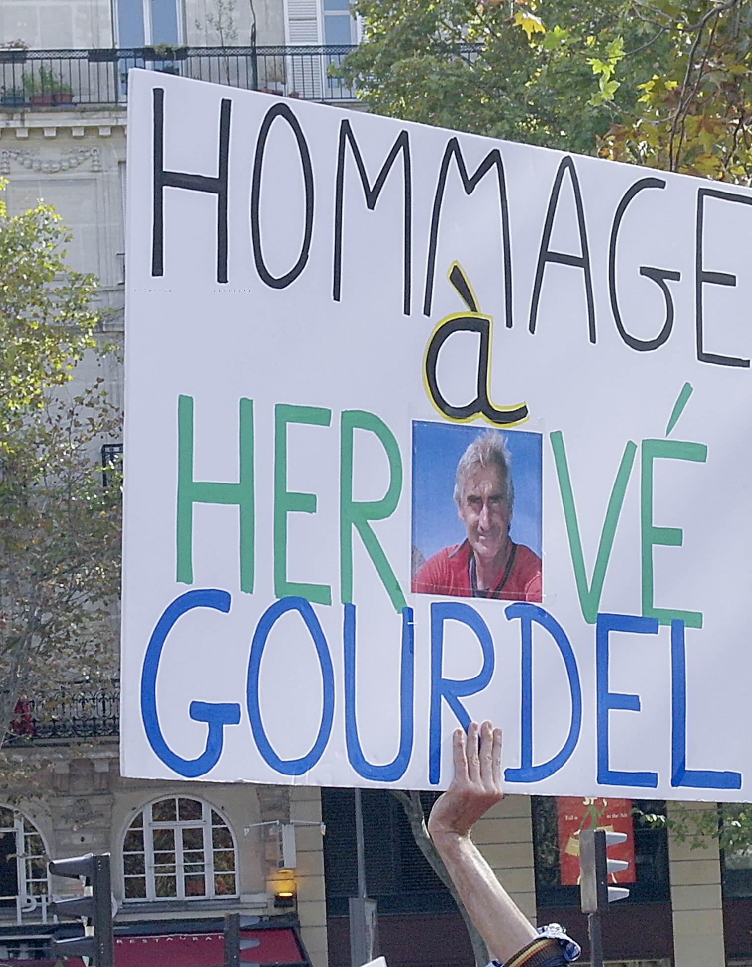 HOMMAGE A HERVE GOURDEL
