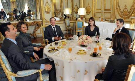 Sarkozy, Carla, Guéant, et Bachar...