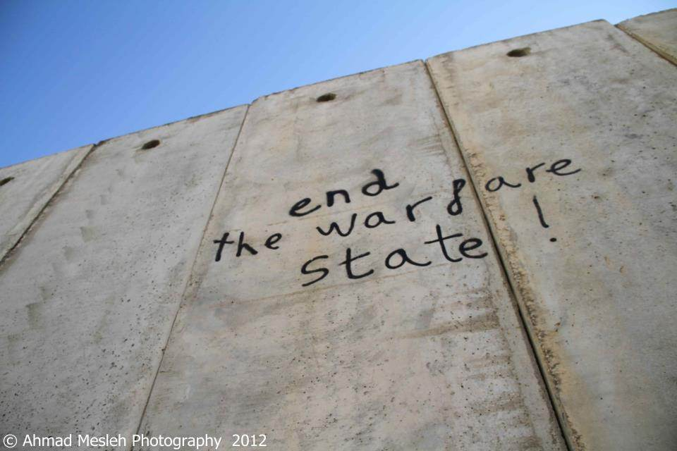 End the warfare state...