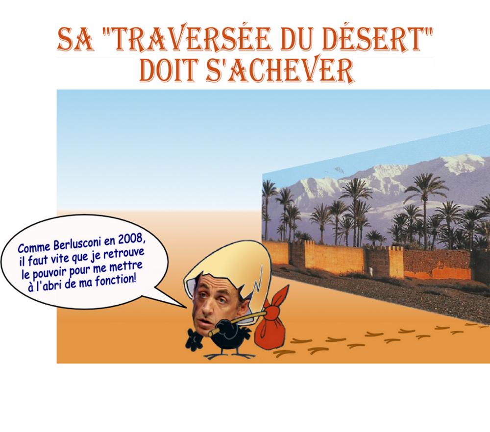 ¤ 50 millions pour Sarkozy : l'accusation de l'ancien chef de l'Etat libyen dans Politique/Societe Traversee_du_desert9