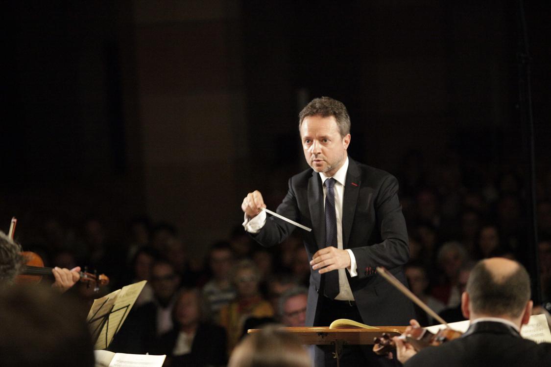 Marc Coppey à la tête des musiciens des Musicales de Colmar
