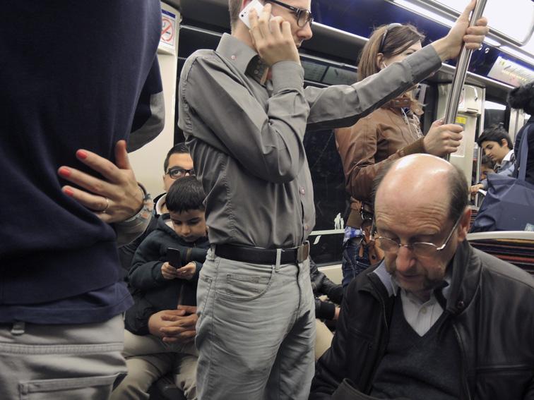 Métro, ligne 9 - Paris 2015