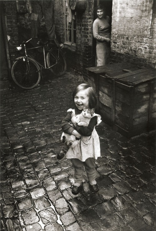 La fillette au chat, Roubaix 1958-59