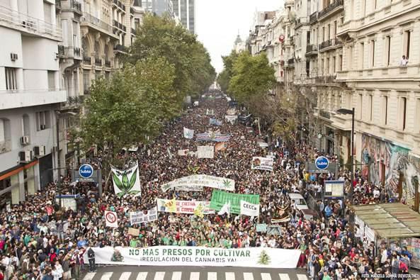 La marche du 3 mai dernier, à Buenos Aires