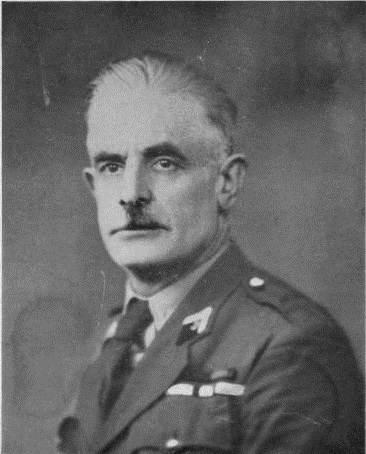 Commandant, Antoine de Touchet, fusillé le 6 juin 44 à la prison de Caen