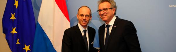 Luc Frieden et Pierre Gramegna