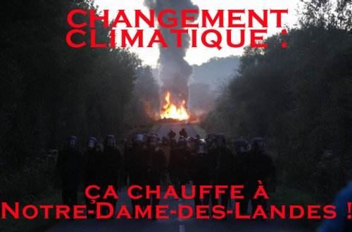 - Notre Dame des Landes : 500 CRS pour détruire 5 barricades aussitôt reconstruites dans - Aéroport Notre Dame Des Landes feu44-78c00