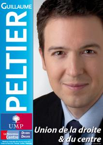 Son affiche de campagne UMP.