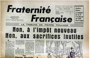 Publication de Pierre Poujade
