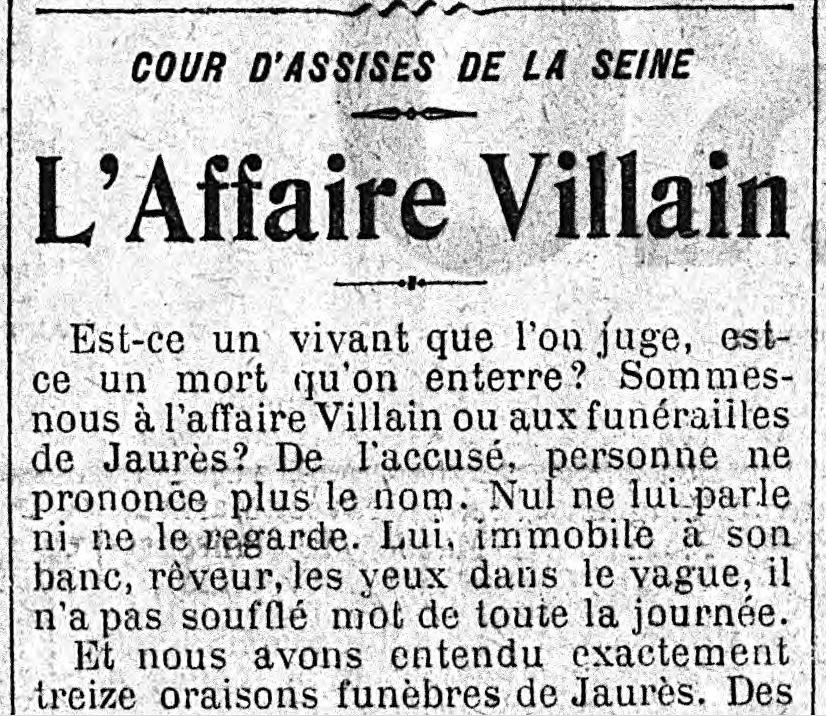 """Le Figaro"" du 26 mars 1919."
