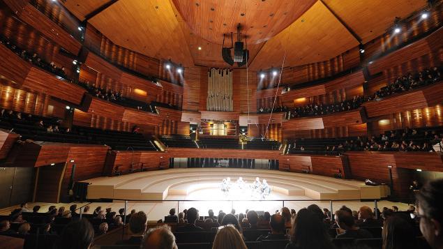 Le nouvel auditorium de Radio France