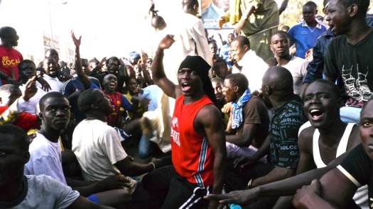 Émeute à Cambérène, dimanche 19 février.