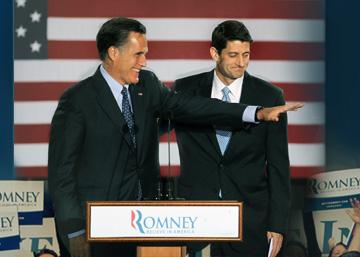 Romney et Ryan