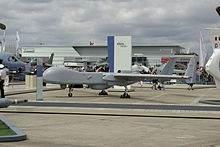 Un drone EADS Eagle au Bourget