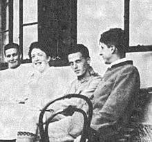 Ludwig Wittgenstein en 1920