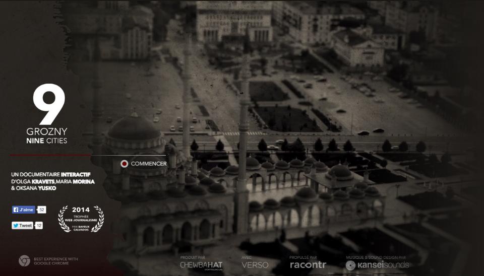 Webdoc : Grozny, derrière la façade russe