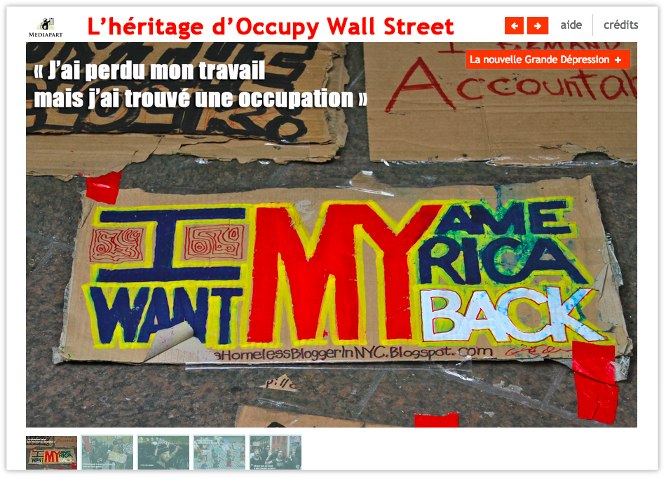 Webdocu : Occupy Wall Street